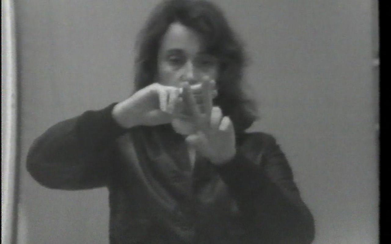 Sehtext: Fingergedicht