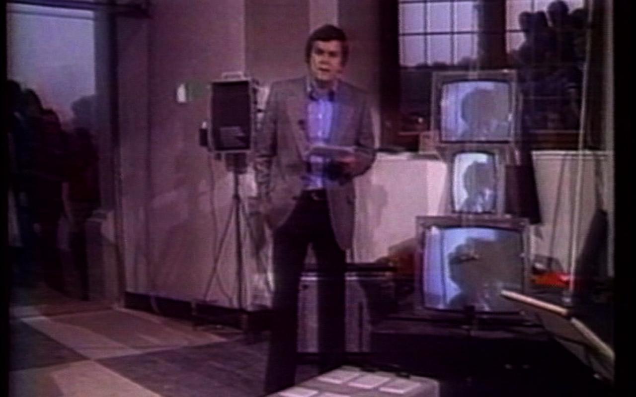 TV bra for living sculptures; TV cello; TV bed