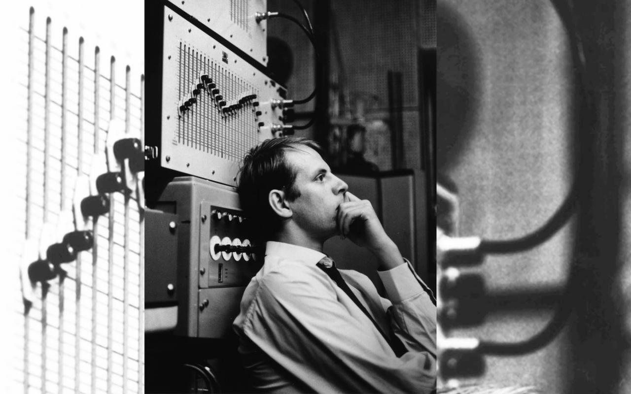 Portrait of Karlheinz Stockhausen