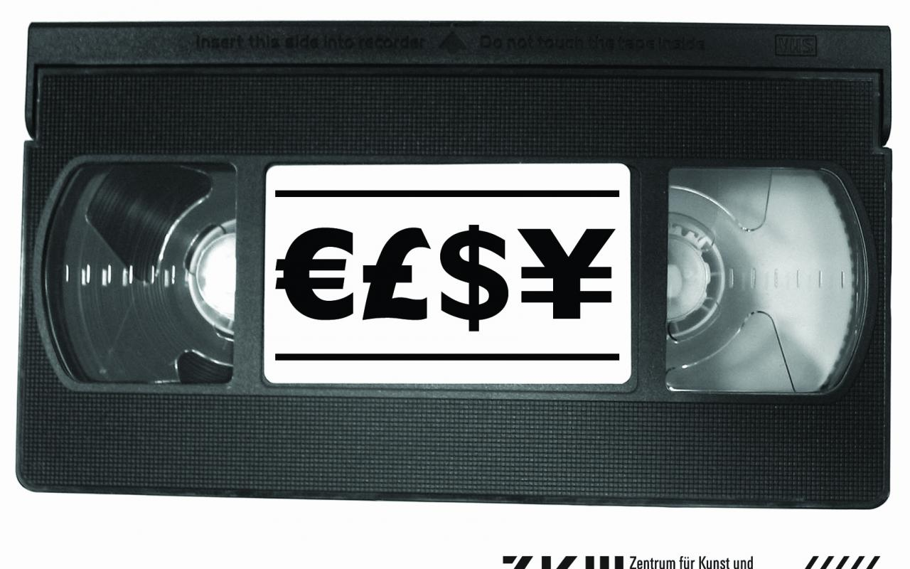 """Detail of the exhibition """"Video/Economy"""""""