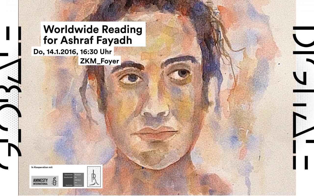 Ein Porträt von Ashraf Fayadh