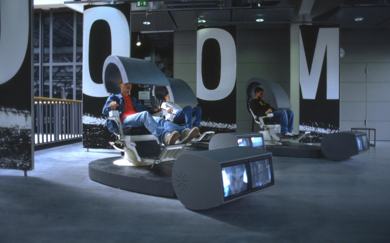 View of the exhibition »World of Games«