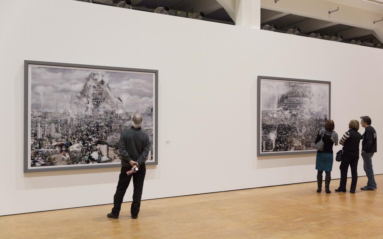 Ausstellungsansicht Babel World