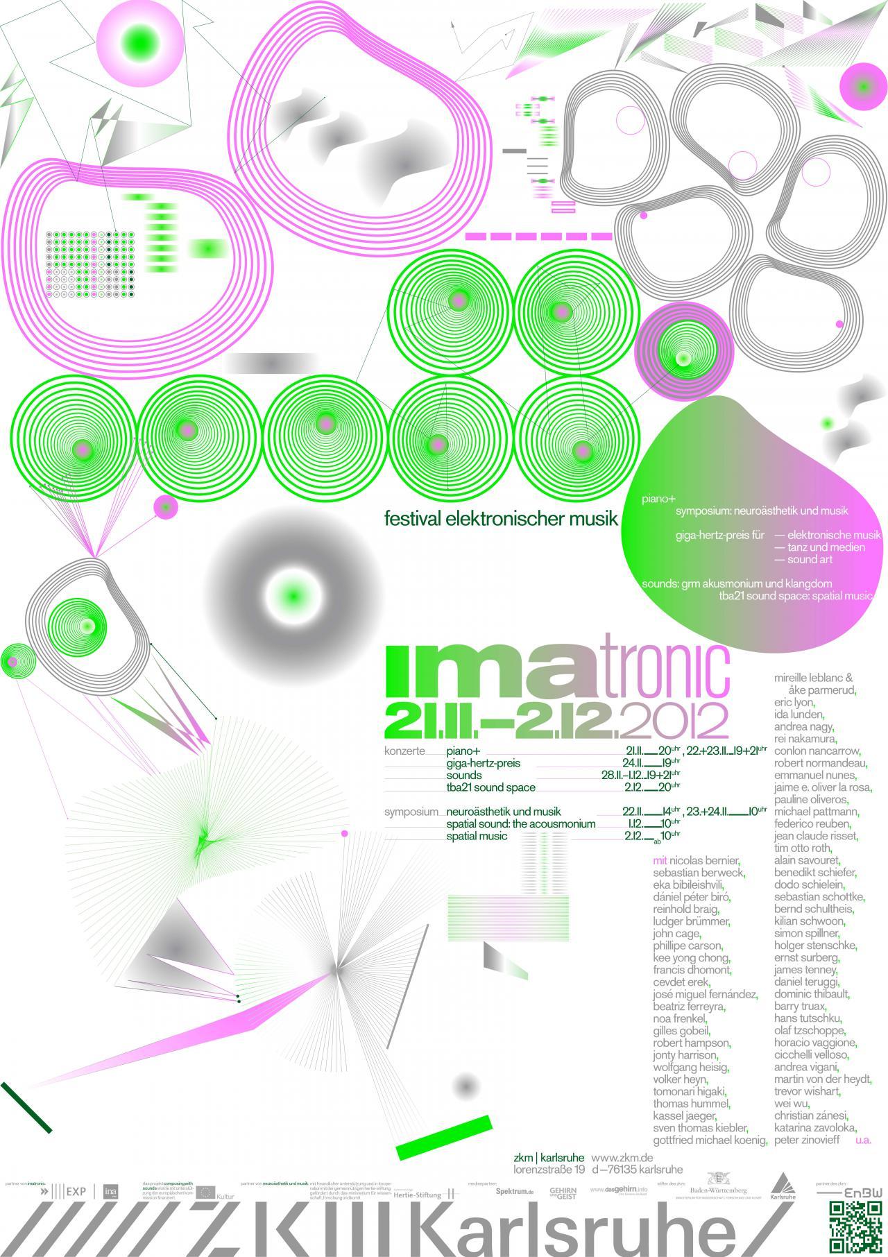 Poster IMATRONIC 2012 at ZKM | Karlsruhe