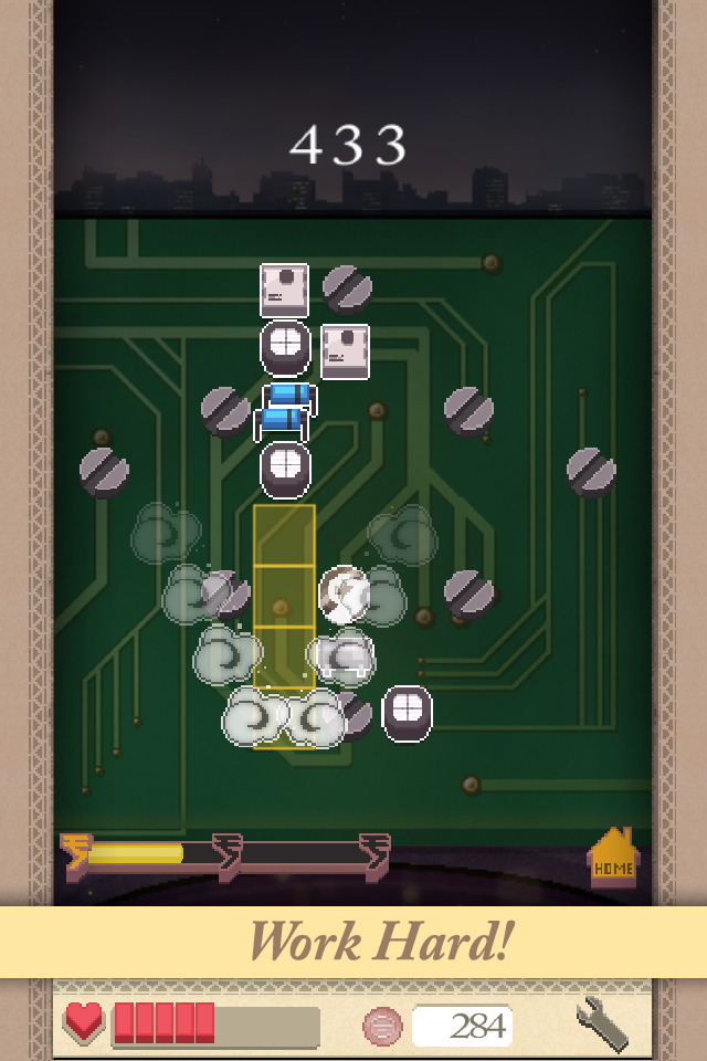 Screenshot of the video game »Burn the Boards«