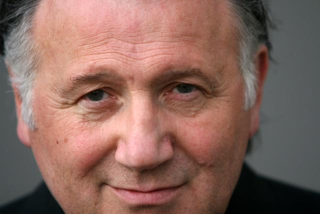 A portrait of Peter Weibel