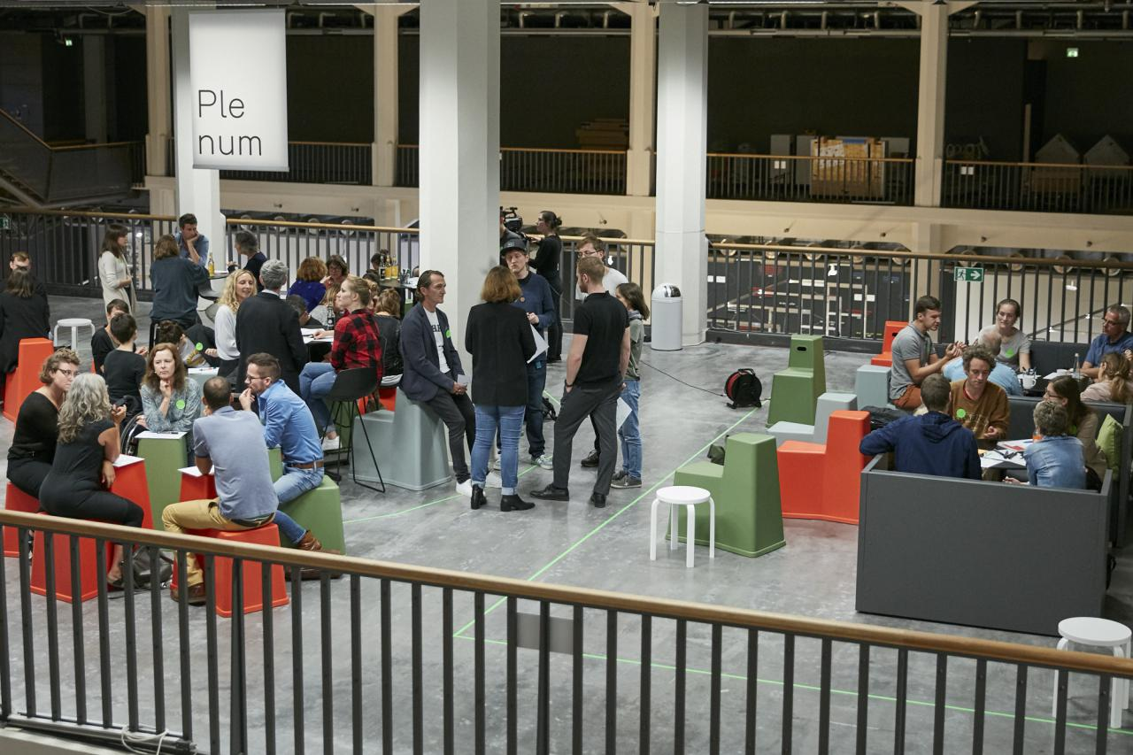 Blick in das BarCamp von »Learning Takes Place«