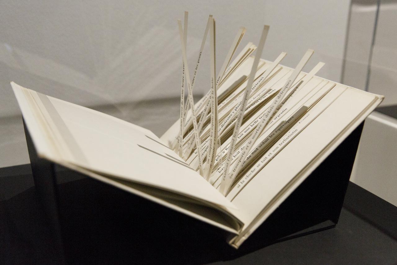Exhibition view »DIA-LOGOs. Ramon Llull and the ars combinatoria«