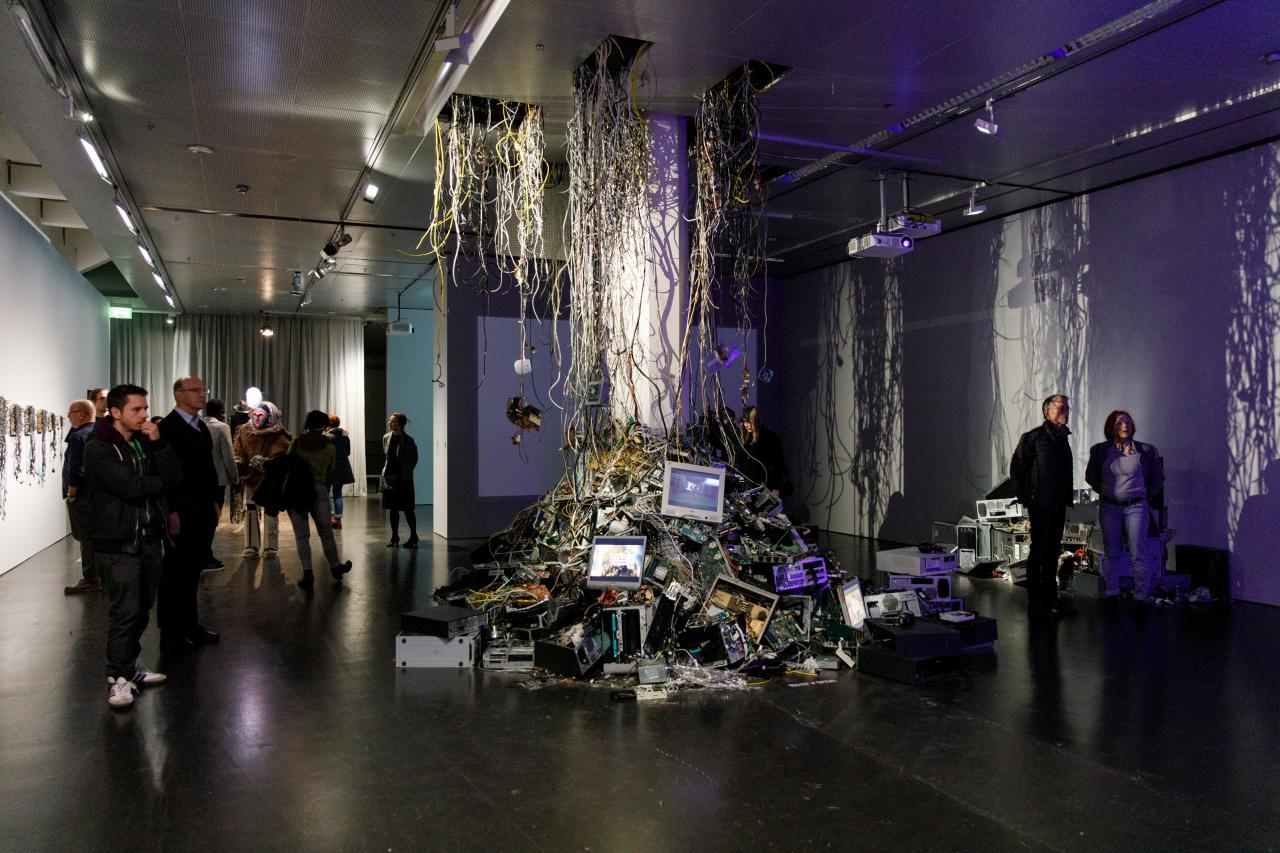 Exhibition view »Digital Imaginaries – Africas in Production«