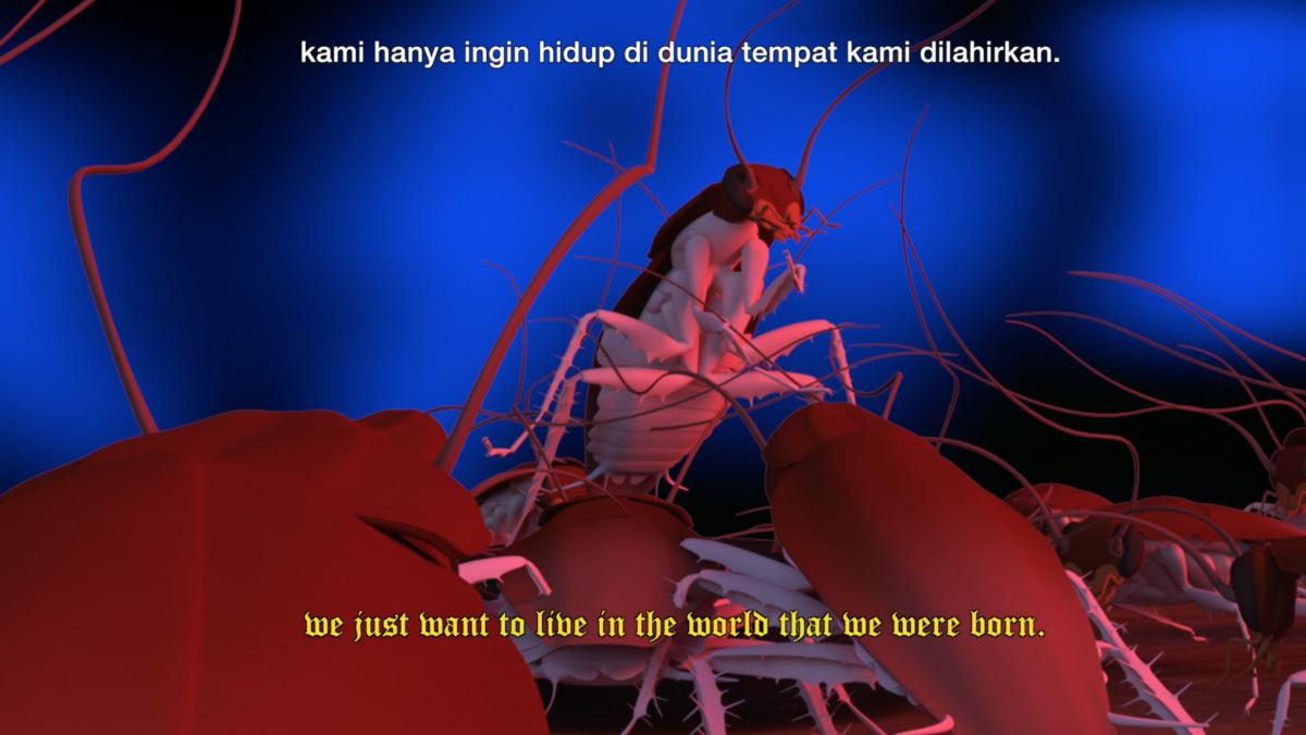 Image from »From Pest to Power« by Indonesian artist Natasha Tontey