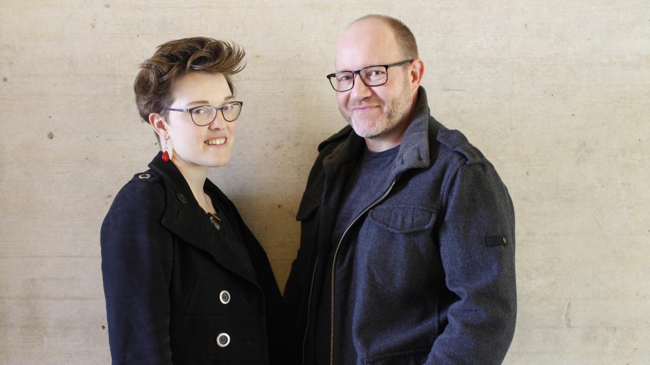 Portrait von Katrin Hochschuh & Adam Donovan
