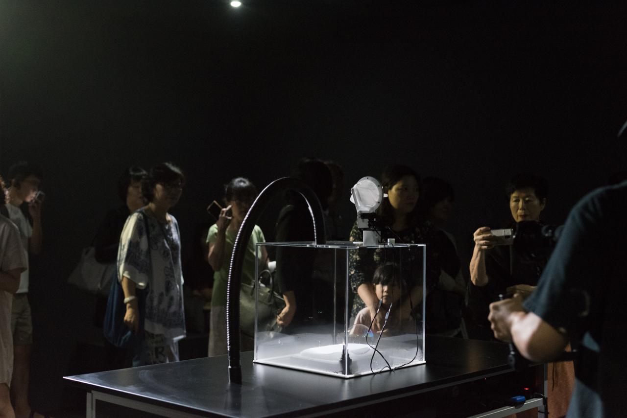Installationsansicht »Edge of Now« Nam June Paik Art Center, Yongin.