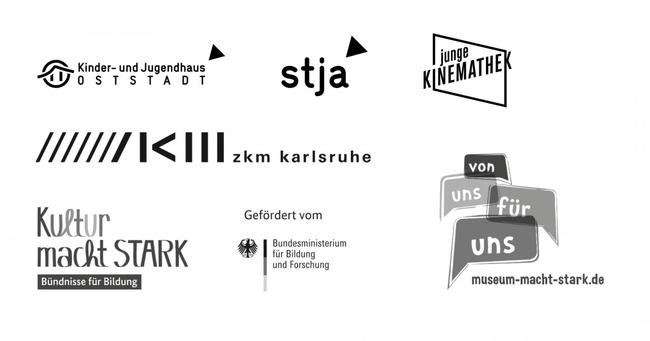 Logos der Kooperationspartner des Projekts »Urbanisiere Dich! – Oststadt Games«