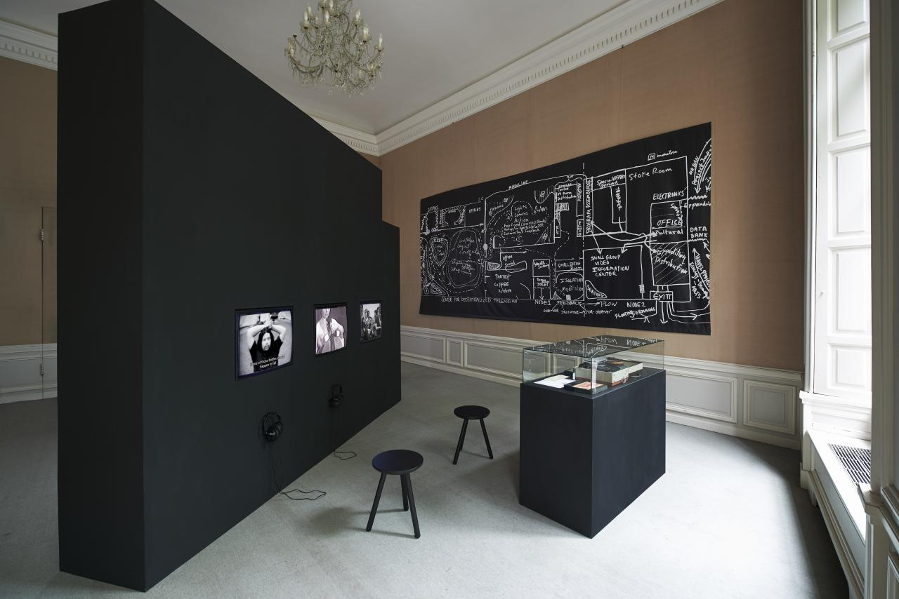 Exhibition view »Radical Software. The Raindance Foundation, Media Ecology and Video Art«, West, Den Haag