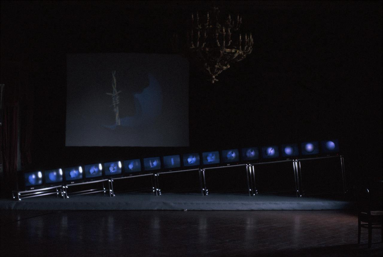 »Instantaneous«, 1987, computerbasierte Installation