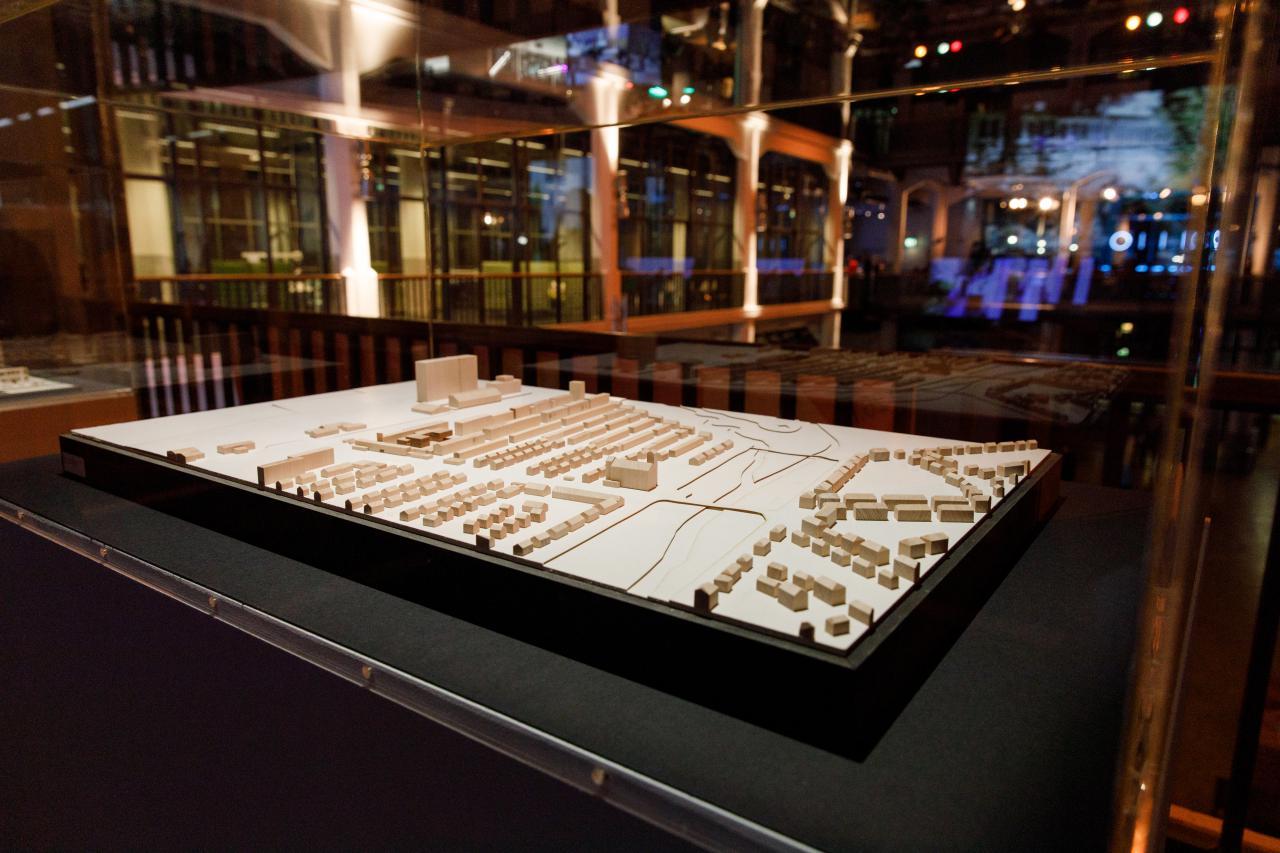 Ausstellungsansicht der Dammerstockausstellung in der Bauhaus Imaginista Ausstellung