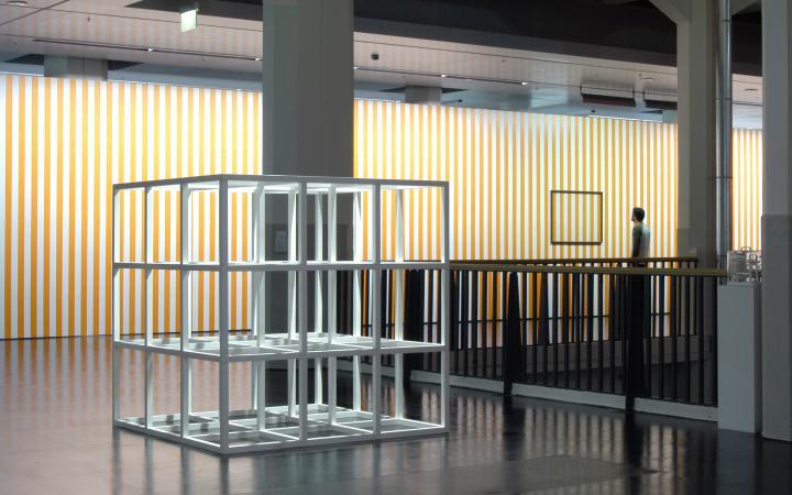 """Ausstellungsansicht """"Exit_Ausstieg aus dem Bild"""""""