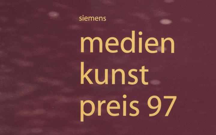 Cover of the publication »Siemens Medienkunstpreis 97«