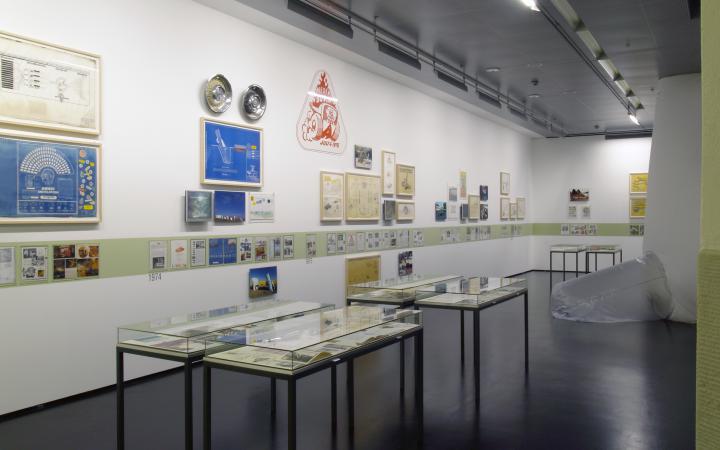 """Ausstellungsansicht """"Ant Farm. 1968-1978"""""""