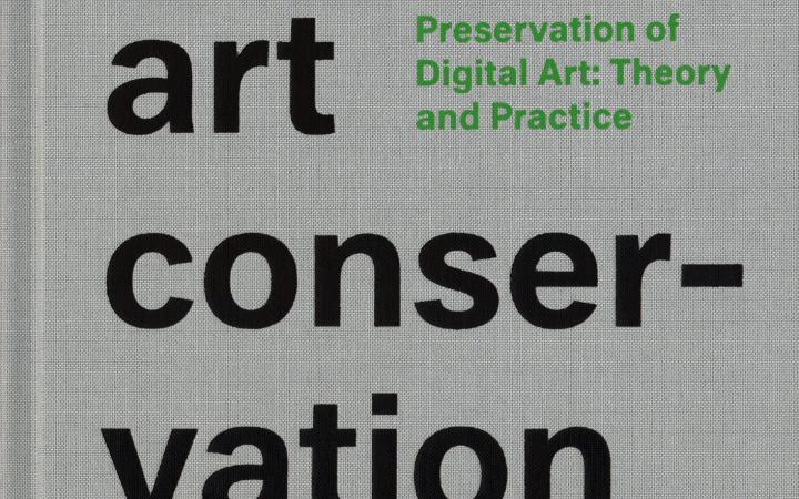 Cover der Publikation »Digital Art Conservation (English)«
