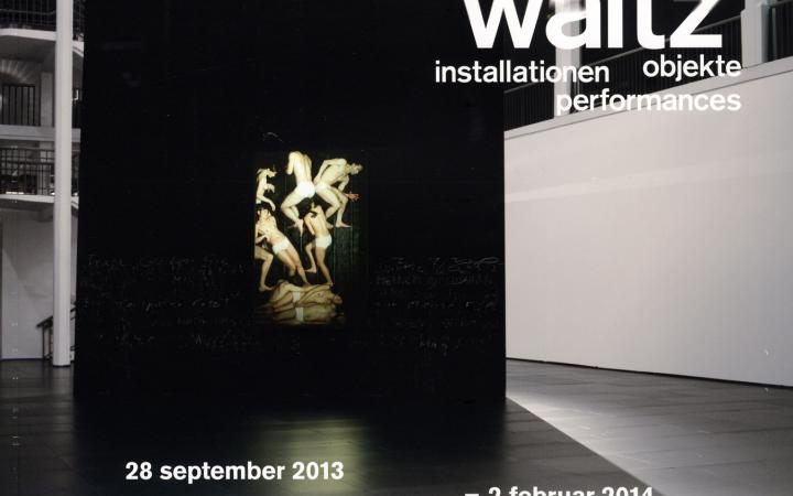 Cover der Publikation »Sasha Waltz: Installationen, Objekte, Performances«