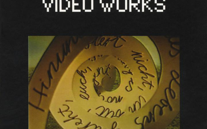 Cover der Publikation »Gábor Bódy: Video Works«