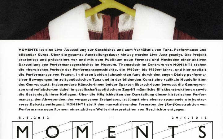 Cover der Publikation »Moments«