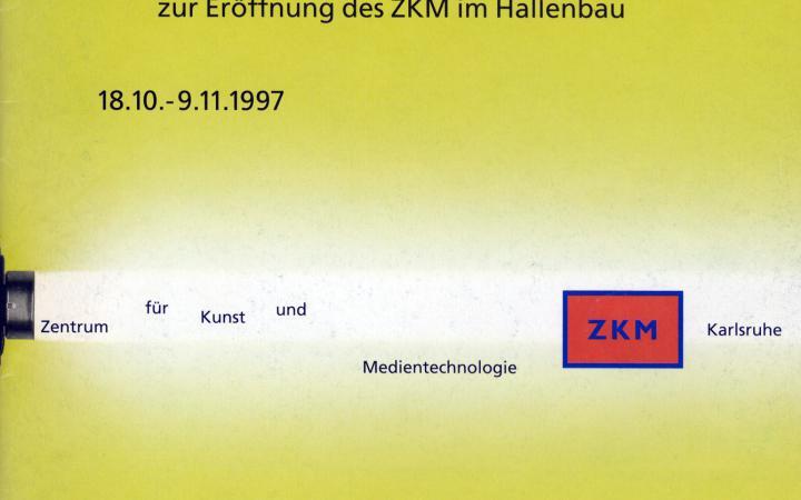 Cover der Publikation »Multimediale 5. Festivalmagazin«