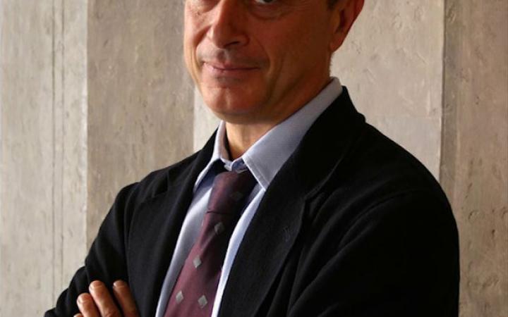 Portrait of Franco Farinelli