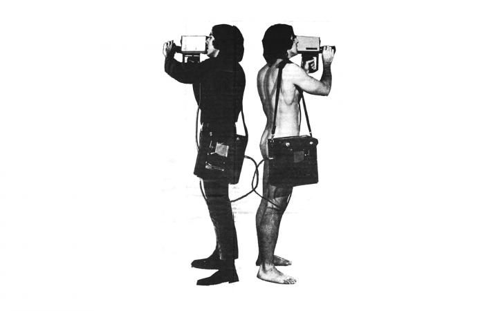 """""""Portable Video. A Radical Software State-of-the-Art Report"""", in: »Radical Software«, Vol. 1, Nr. 3, 1971, Illustration"""