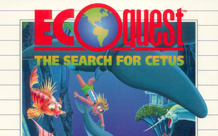 Cover of the video game »EcoQuest«