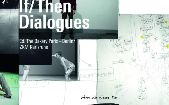 Cover der Publikation »If/Then Dialogues« mit Screenshots und Text