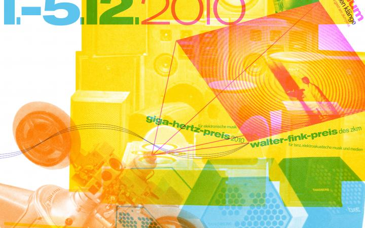 Webbanner des Giga-Hertz-Preis 2010 am ZKM | Karlsruhe
