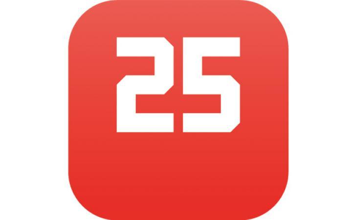 Eine große 25