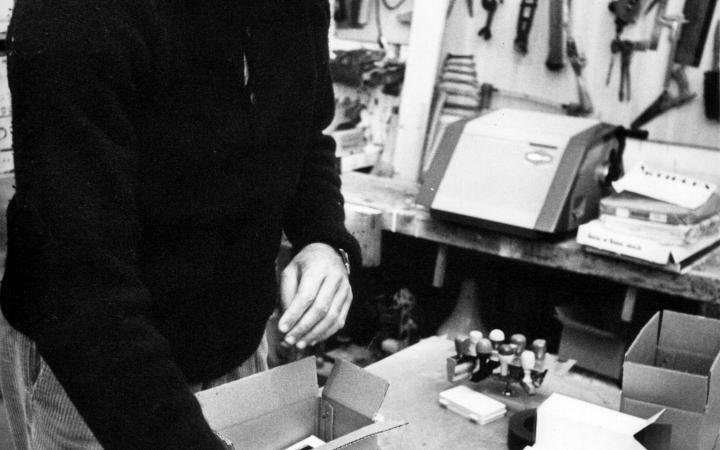 Portrait Gianfranco Baruchello, 1968