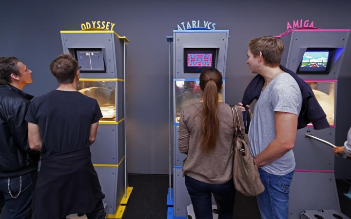 View of the exhibition »ZKM_Gameplay«