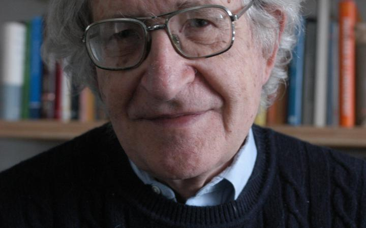 Portrait of Noam Chomsky