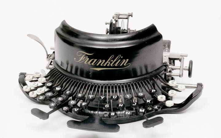 The Franklich - historic typewriter