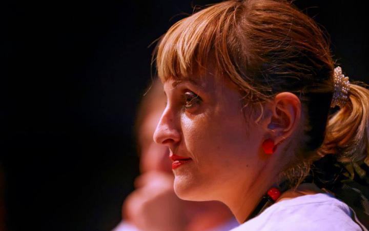 Head of a woman: Portrait of Pinar Yoldas