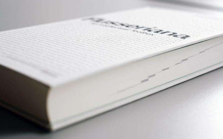 View of the book »Flusseriana«