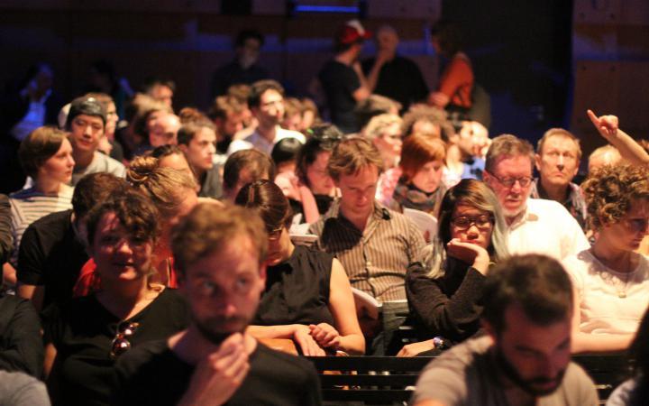 Eine Menschenmenge
