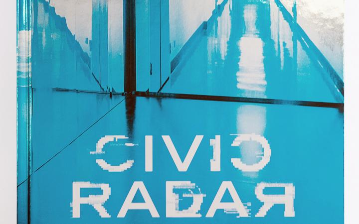 Cover of the publication »Lynn Hershman Leeson: Civic Radar«