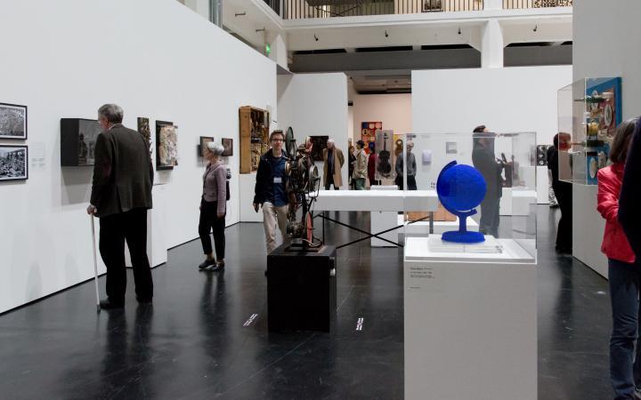 Blick in die Ausstellung »Kunst in Europa 1945–1968«, ZKM  Karlsruhe