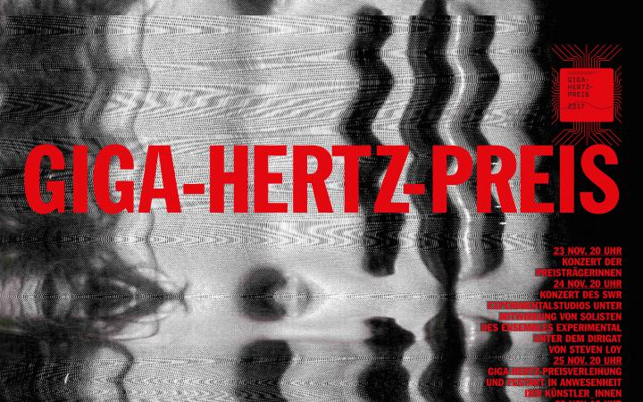 Webbanner des Giga-Hertz-Preis 2017 am ZKM | Karlsruhe