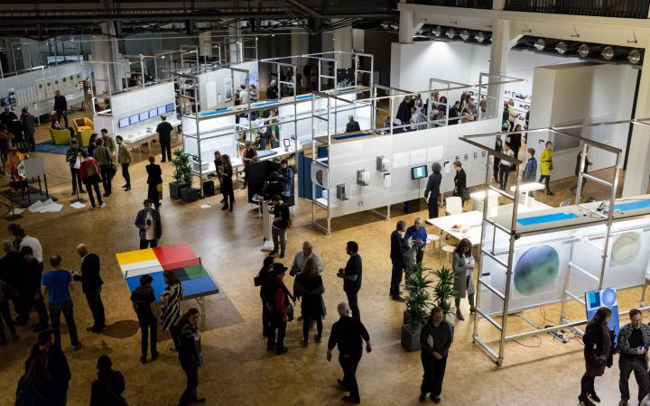Exhibition view »Open Codes. Living in Digital Worlds«
