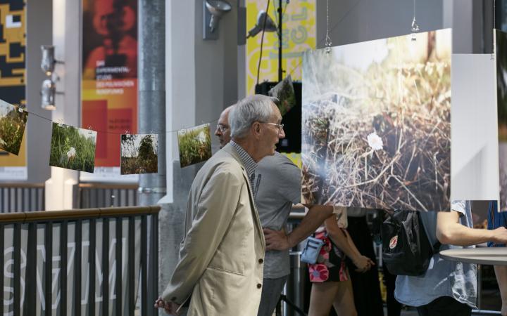 Impressionen der Ausstellungseröffnung »Masterclass«