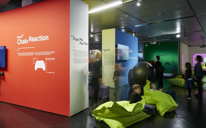 Exhibition view »zkm_gameplay. the next level«