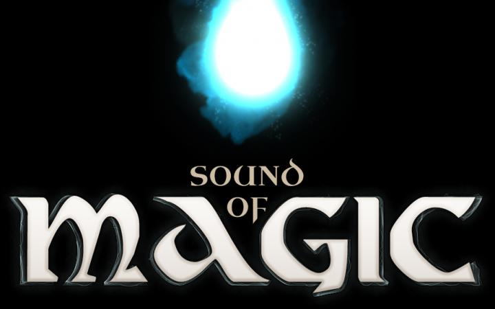 Logo of the interactive audio game »Sound of Magic«