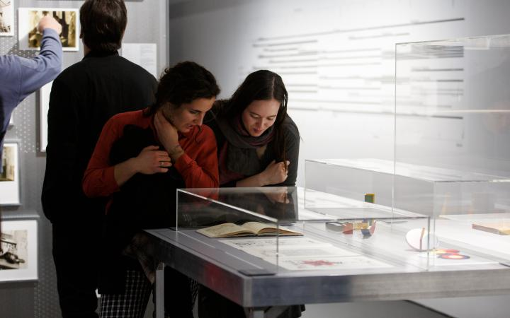 Exhibition view »The Whole World a Bauhaus»