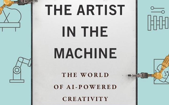 Buchcover »Artist in the Machine« von Arthur Miller
